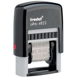 trodat Wortbandstempel Printy 4822, ohne Datum, schwarz