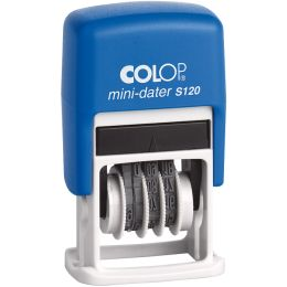 COLOP Datumstempel Mini Dater S120 SD, Monate in Zahlen