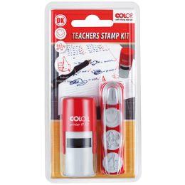 COLOP Teachers Stempel Set, Motivationsstempel inkl 4 Motive