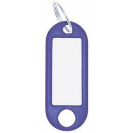 WEDO Schlüsselanhänger mit Ring, Durchmesser: 18 mm, weiß