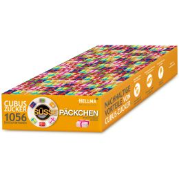 HELLMA Würfelzucker CUBUS Süße Päckchen, im Karton