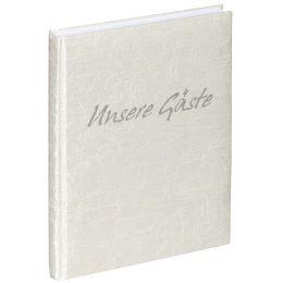 PAGNA Gästebuch, Motiv: Tsarina, weiß, 192 Seiten