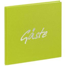 PAGNA Gästebuch Trend, lindgrün, 180 Seiten