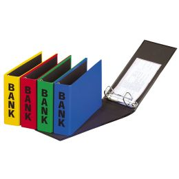 PAGNA Bankordner Basic Colours, für Kontoauszüge, sortiert