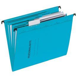 PAGNA Personalakte, aus Karton, 5-fach, blau