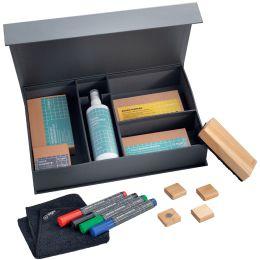 sigel Moderations-Set für Weißwandtafeln, in Kartonbox