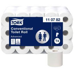 TORK Toilettenpapier, 3-lagig, weiß, Großpackung