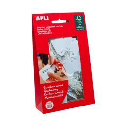 agipa Warenanhänger - Kleinpackung, Maße: 18 x 29 mm