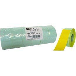 agipa Etiketten für Preisauszeichner, 26 x 16 mm, gelb