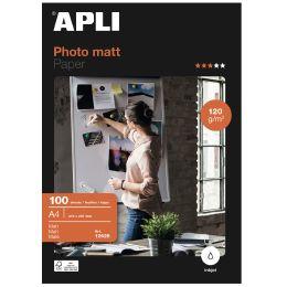 agipa Foto-Papier, DIN A4, 120 g/qm, matt
