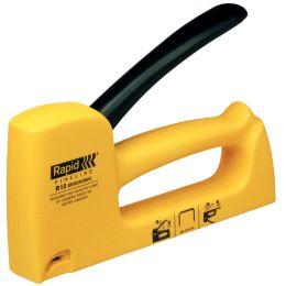 Rapid Handtacker HOBBY R13 ergonomic, gelb