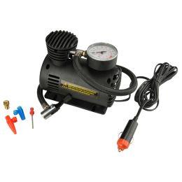 cartrend KFZ-Kompressor mit Manometer, max. Druck: 18 bar