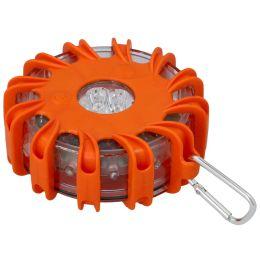 cartrend KFZ-Warnblinkleuchte, mit 16 LEDs, orange