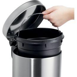helit Tret-Abfalleimer the silent, 20 Liter, weiß