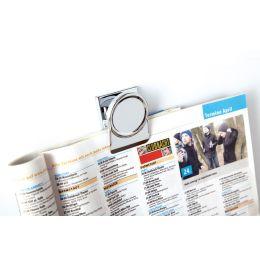 magnetoplan Magnetclip, 35 mm, silber