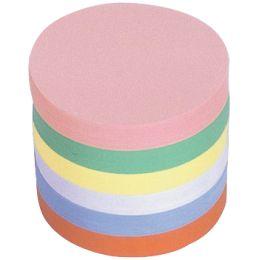 magnetoplan Moderationskarten rund, Durchmesser: 140 mm