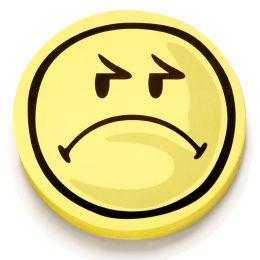magnetoplan Bewertungssymbole Smilies negativ, rund