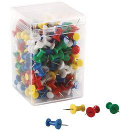 magnetoplan Pinnwand-Nadeln, farbig, Inhalt: 200 Stück