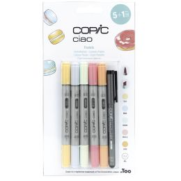 COPIC Marker ciao, 5+1 Set Pastellfarben
