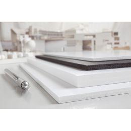 transotype Foam Boards, 700 x 1.000 mm, weiß, 10 mm