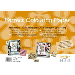 transotype Marker Papier DIN A3, 250 g/qm, 10 Blatt