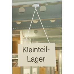 magnetoplan Hakenmagnet, weiß, Durchmesser: 36 mm