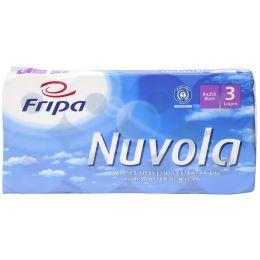 Fripa Toilettenpapier Nuvola, 3-lagig, hochweiá