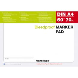 transotype Markerblock DIN A2, 70 g/qm, 50 Blatt