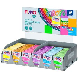 FIMO EFFECT Modelliermasse Neon, 72er Display