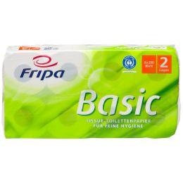 Fripa Toilettenpapier Basic, 2-lagig, weiá