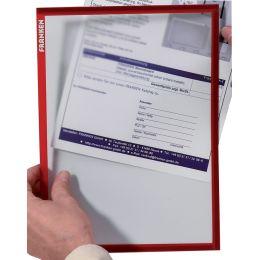 FRANKEN Magnet-Tasche FRAME IT X-tra!Line, DIN A3, rot