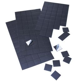 FRANKEN Magnetplättchen, 20 mm x 20 mm, schwarz