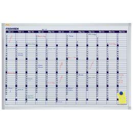 FRANKEN X-tra!Line Planungstafel Jahreskalender, 900x600 mm