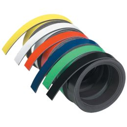 FRANKEN Magnetband, (L)1.000 x (T)5 x (H)1 mm, weiß