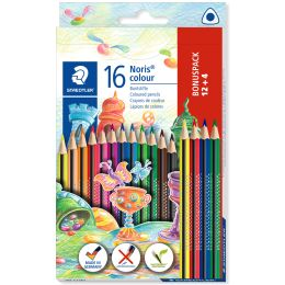 STAEDTLER Dreikant-Buntstift Noris colour, 12 + 4 Kartonetui