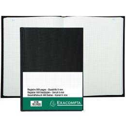 EXACOMPTA Geschäftsbuch, DIN A4, 250 Blatt, kariert