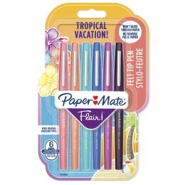 Paper:Mate Faserschreiber Flair TROPICAL VACATION, 6er