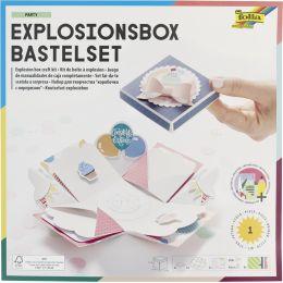 folia Explosionsbox-Bastelset Happy Birthday