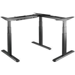 LogiLink Schreibtischgestell, elektrisch, 90 Grad L-Form