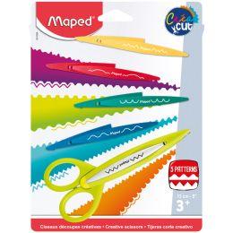 Maped Konturenscheren-Set CreaCut, 3er Set auf Blister