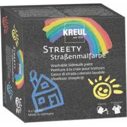 KREUL Straßenmalfarbe STREETY, 120 ml, Starter Set