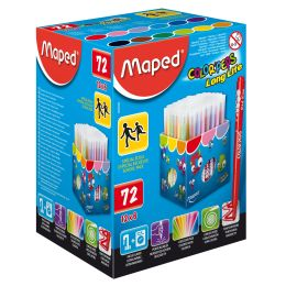 Maped Fasermaler COLORPEPS Long Life, 72er Display