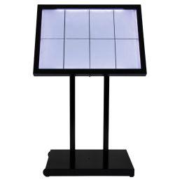 Securit LED-Schaukasten Black Star XXL, 8 x DIN A4 Seiten