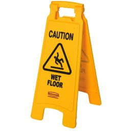 Rubbermaid Warnschild Caution Wet Floor
