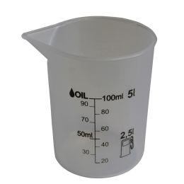 IWH Messbecher, transparent, Inhalt: 125 ml