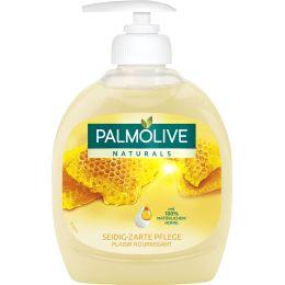 PALMOLIVE Flüssigseife NATURALS Milch & Honig, 300 ml
