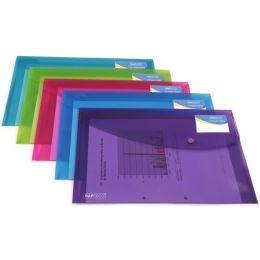 RAPESCO Dokumententasche, DIN A4+, PP, farbig sortiert