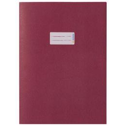 HERMA Heftschoner, aus Papier, DIN A5, dunkelrot