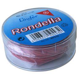 Läufer RONDELLA Gummiringe in der Dose - 25 g, 85 mm, rot