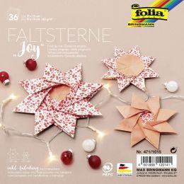 folia Faltsterne-Set Joy (Meißner-Technik)
